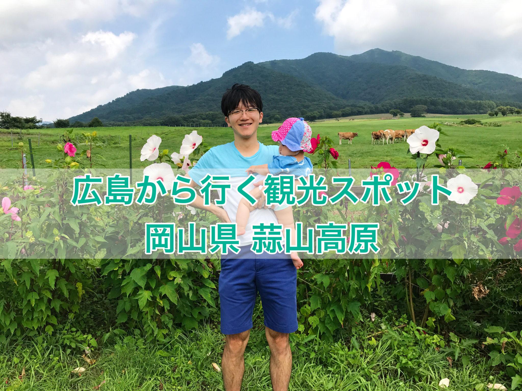 広島から行く観光スポット「岡山県 蒜山高原」