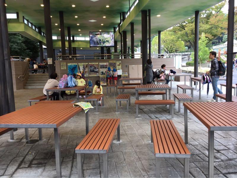 東山動物園休憩所