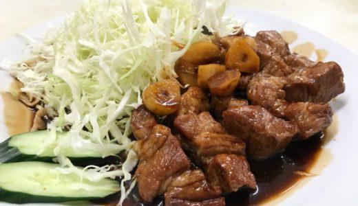 【三重グルメ】あさひ食堂の四日市トンテキ|肉厚のお肉とニンニクたっぷりでご飯がすすむ