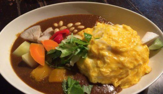 【広島 カレーランチ】野菜がゴロゴロ入ったヘルシーカレー「ばばじ」