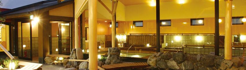 宇品天然温泉 ほの湯 露天風呂