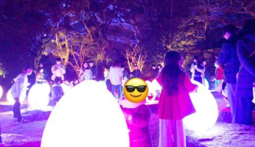 【広島 イベント】幻想的なライトアップ「チームラボ広島城 光の祭」