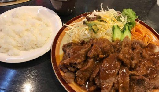 【広島グルメ】焼肉食堂ほんまもんのランチ「くろんぼ」|ボリューム満点ビーフカツ