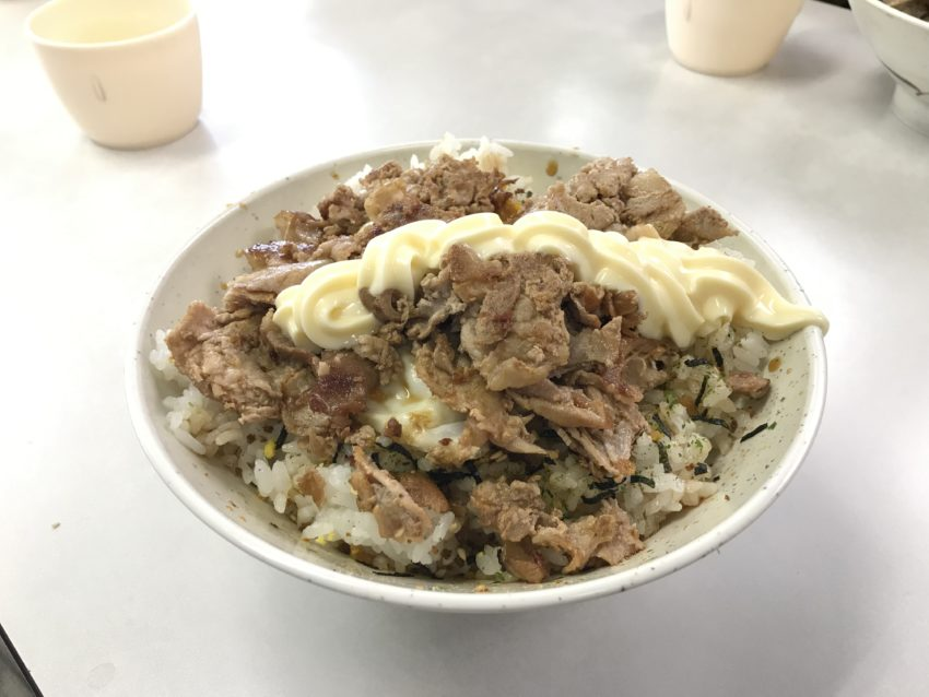 ポパイ 肉玉ライス(醤油)