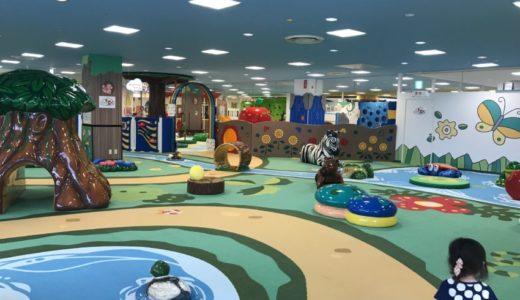 【子連れスポット】ギザギザ葉っぱ ~遊びの王国~|駅近の広い遊び場