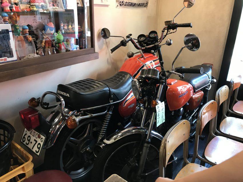 たこやき長尾 バイク