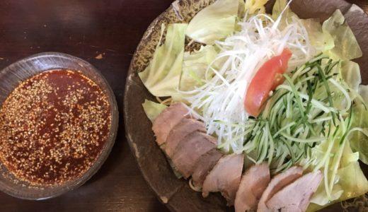 【広島グルメ】広島つけ麺「冷菜麺家 蓮」|夏にぴったり辛いつけ麺