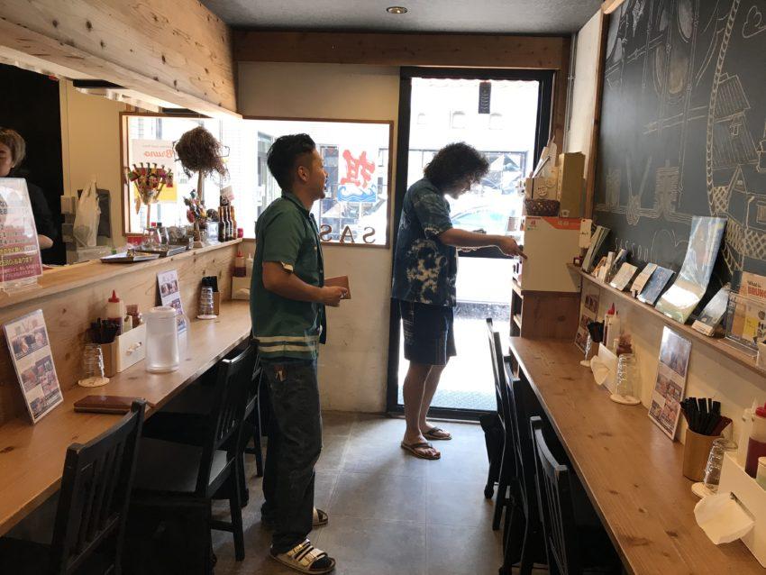 麺屋 颯爽 店内