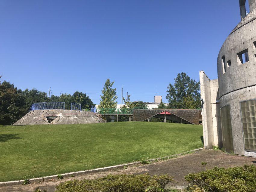 稲荷公園 芝生