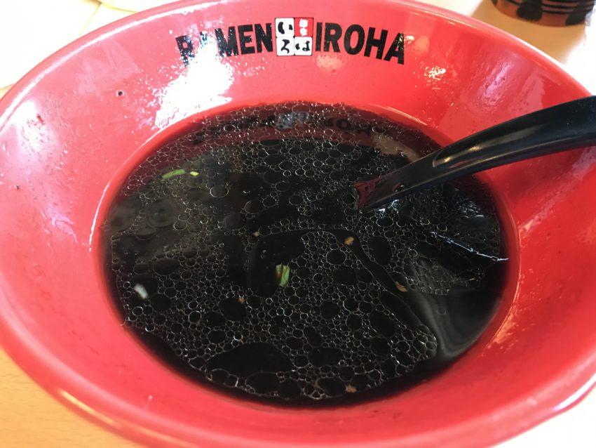 富山ブラック黒胡椒ラーメン