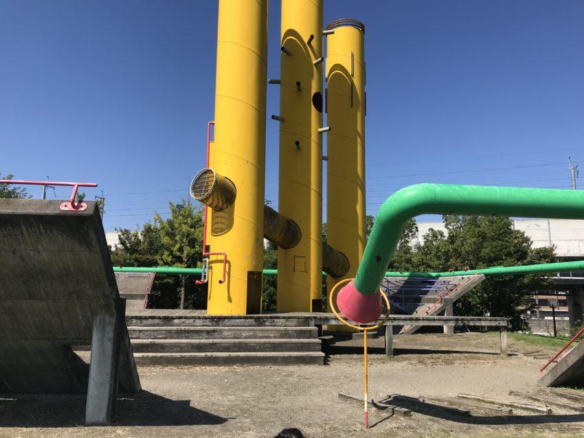 稲荷公園 アスレチック