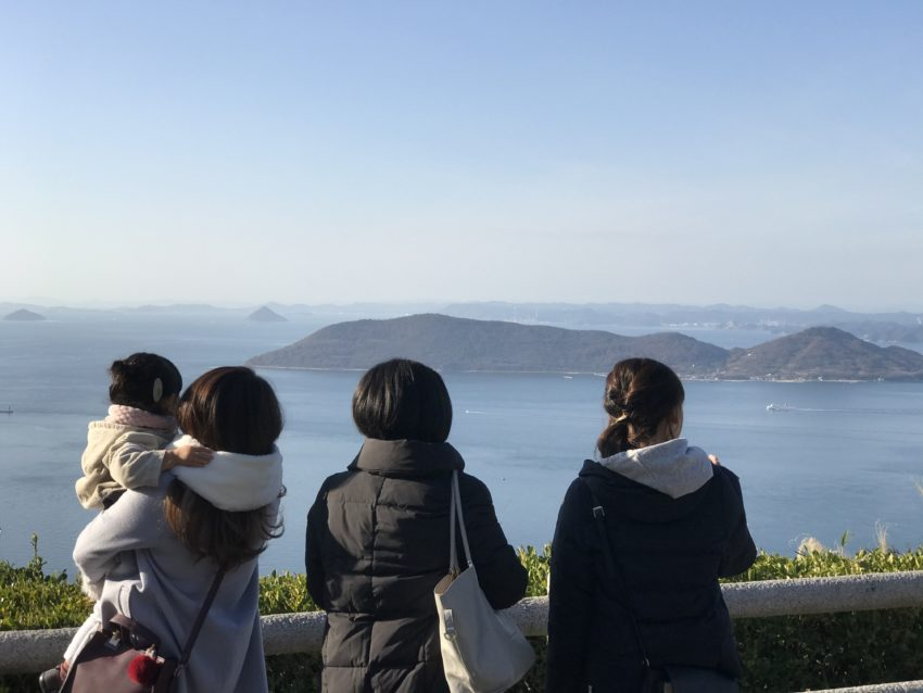屋島山上からの景色