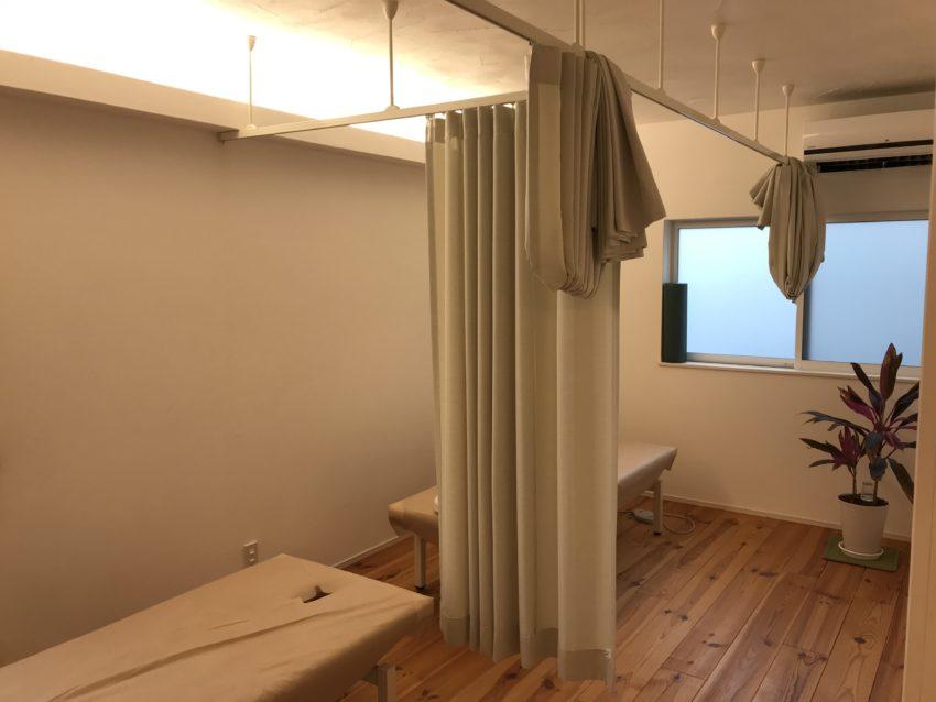 ひとよし鍼灸接骨院 施術室