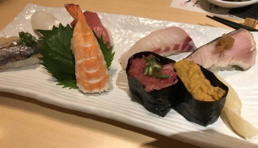 【寿し若】個室があって子連れでも利用できる美味しいお寿司屋さん