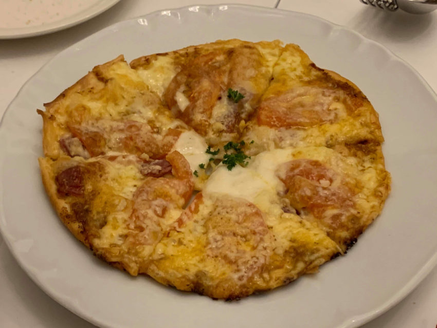 Cafe BARAKA ピザ