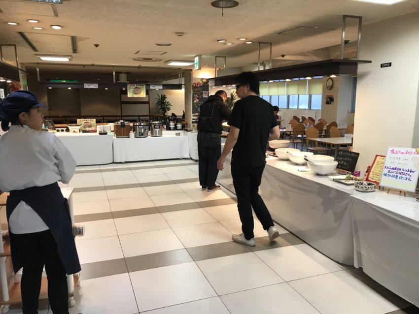 ホテル川六エルステージ 朝食