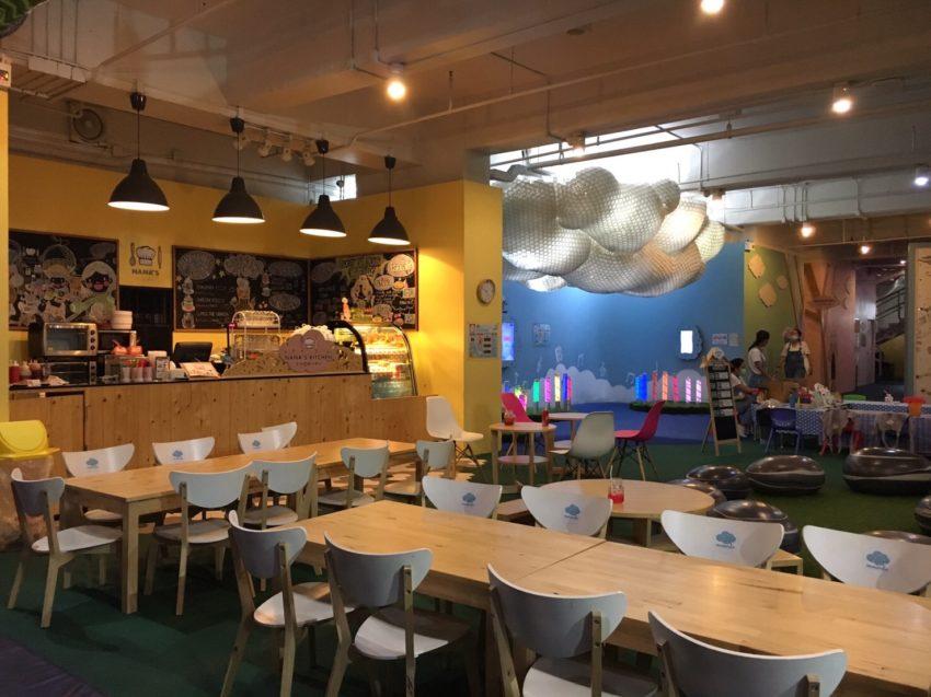 IMAGINIA Playland カフェ