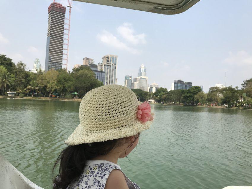 ルンピニー公園 スワンボート