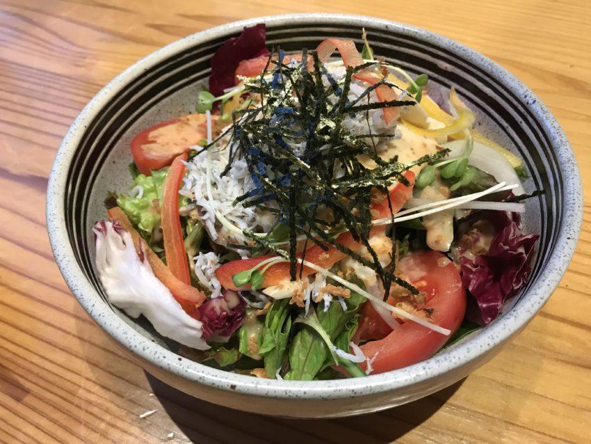 海鮮つるべ サラダ