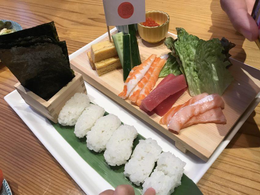 海鮮つるべ 手巻き寿司セット