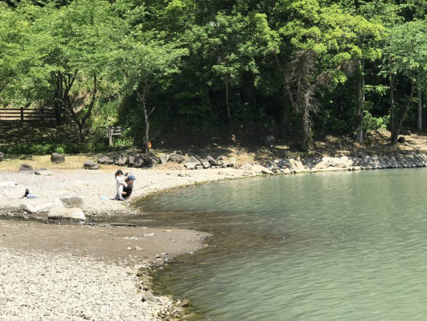 天湖森キャンプ場 釣り
