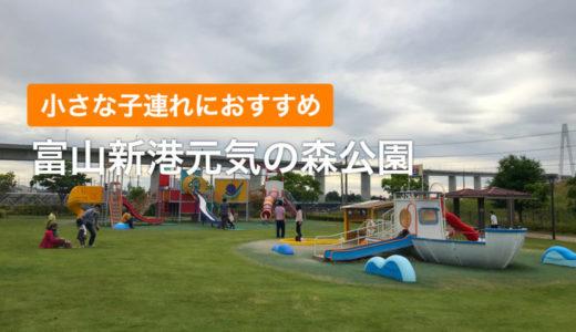 【富山新港元気の森公園】小さな子どもも遊べるスポット(射水市)