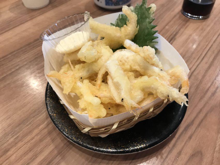 白エビ天ぷら