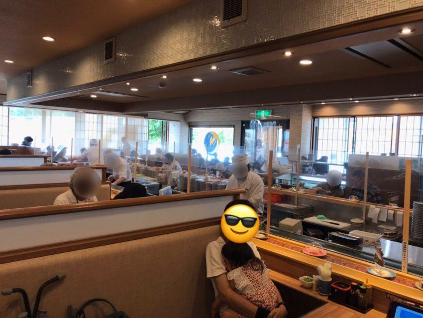 氷見きときと寿司 店内