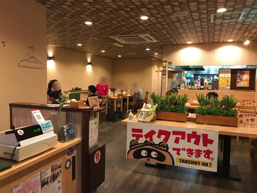 札幌スープカリー荒木商店 店内
