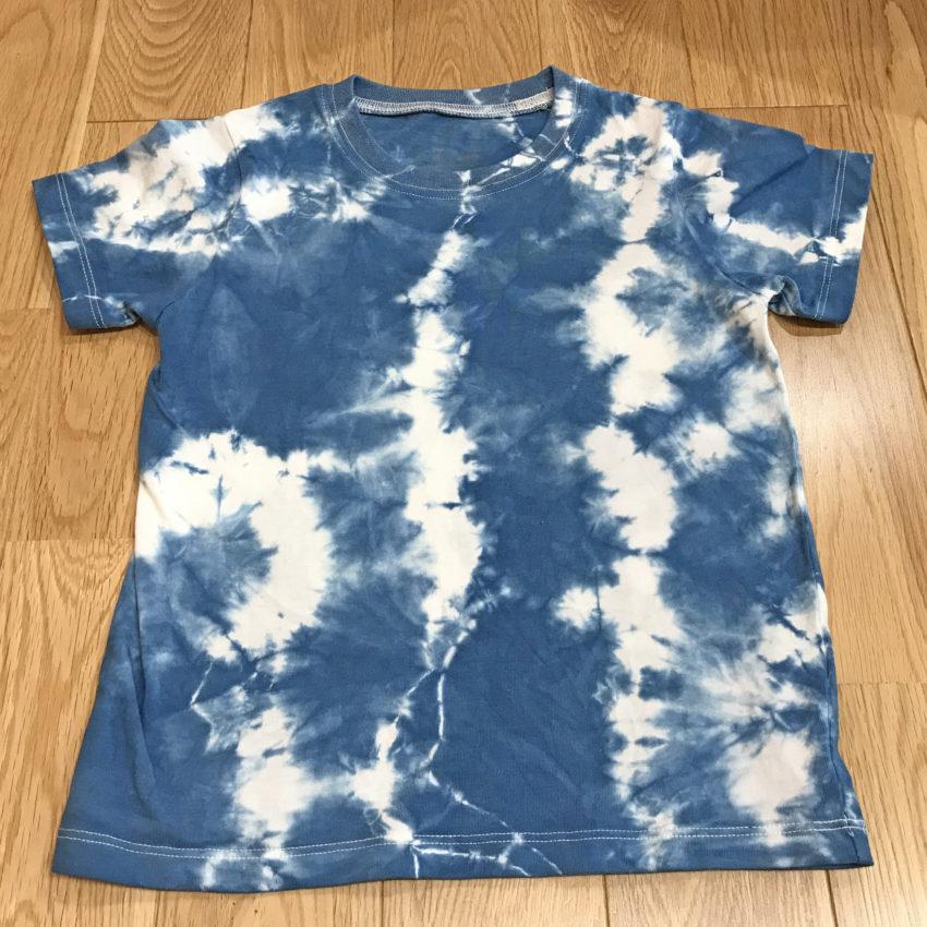 藍染Tシャツ(110cm)