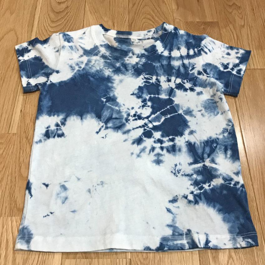 藍染Tシャツ(100cm)