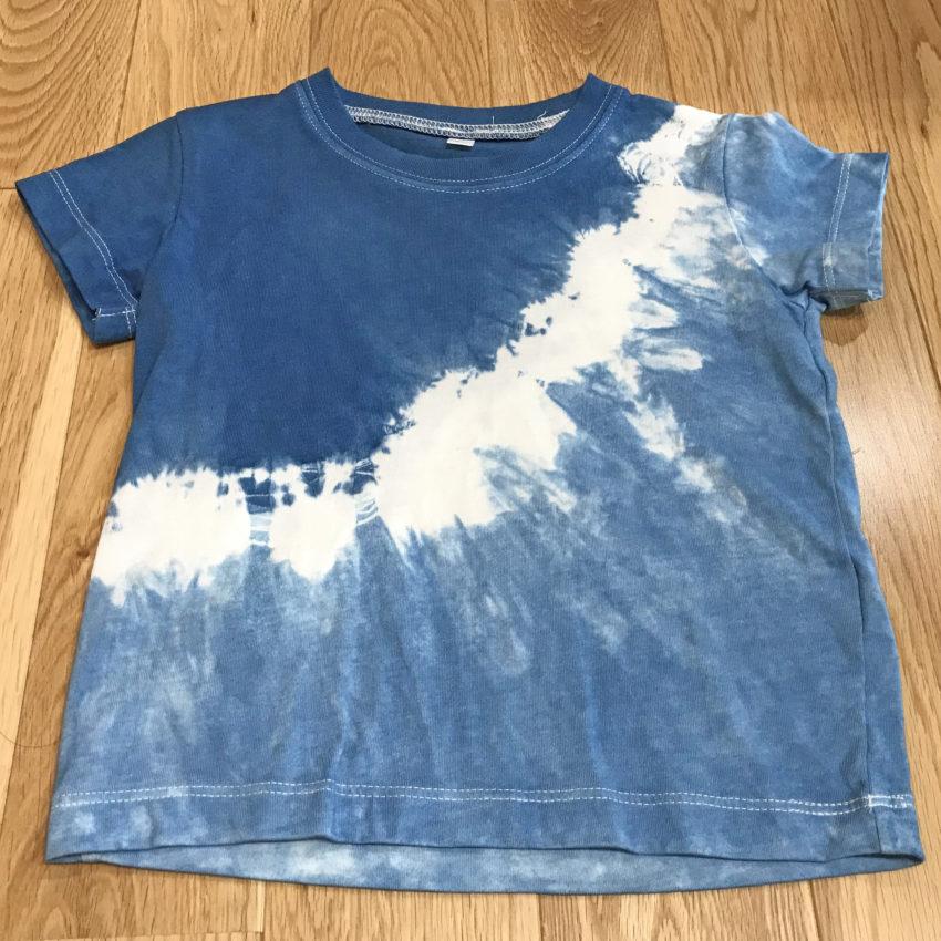 藍染Tシャツ(90cm)