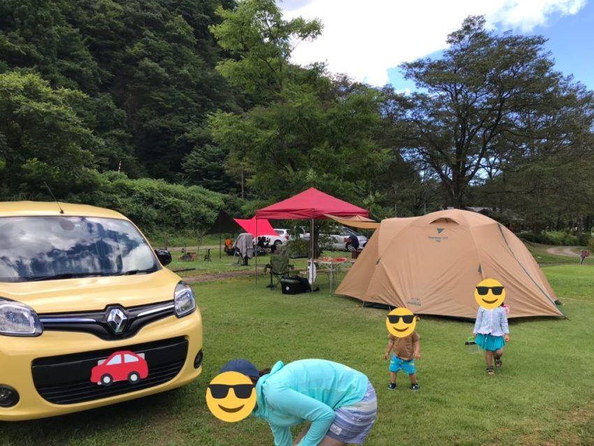 片貝山ノ守キャンプ場 オートキャンプサイト