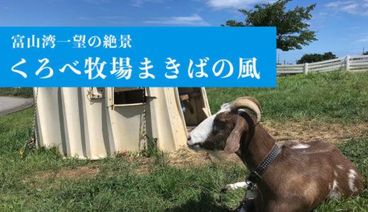 【くろべ牧場まきばの風】富山湾が一望できる絶景が楽しめる牧場(黒部市)