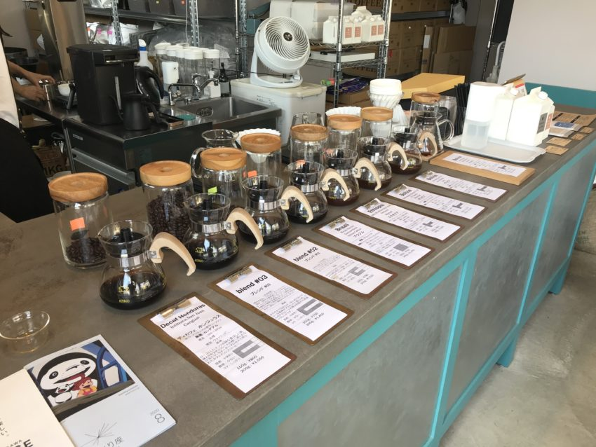 hazeru coffee 店内