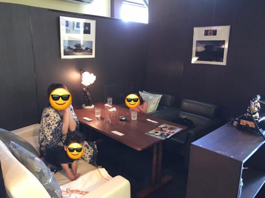 Cafeふかみ 店内