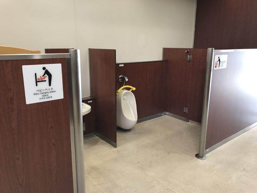 パサール三芳 子どもトイレ