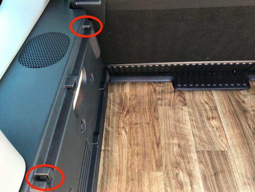 トノボード 棚ダボ設置