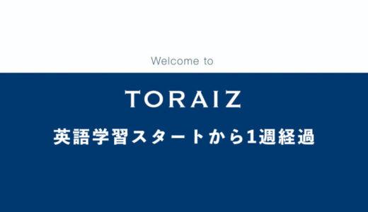 【コーチング英会話】トライズ(TORAIZ)で英語力アップを目指す【1週目】