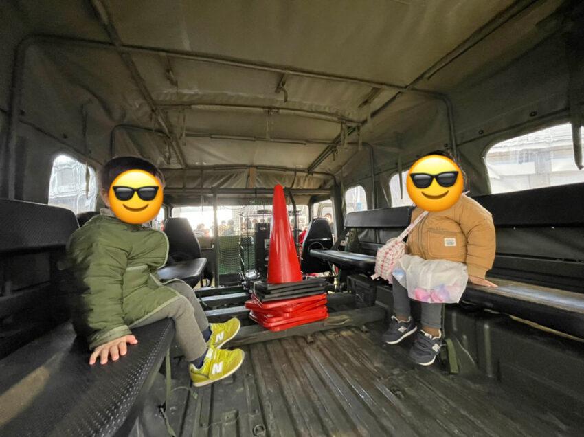 防災フェスティバル 自衛隊車両