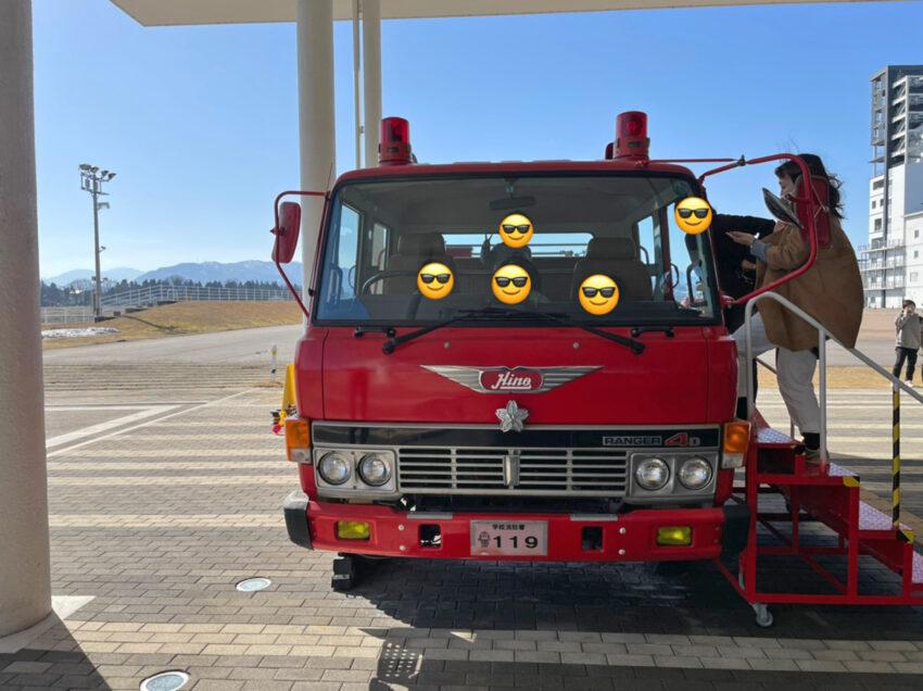 防災フェスティバル 消防車