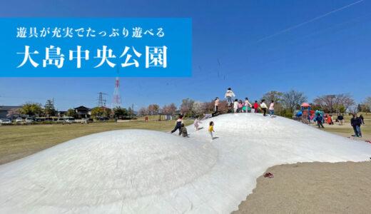 【大島中央公園】綺麗で遊具がたくさん!たっぷり遊べる公園(射水市)