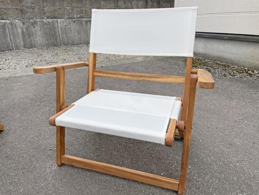 ニトリ木製ローチェア