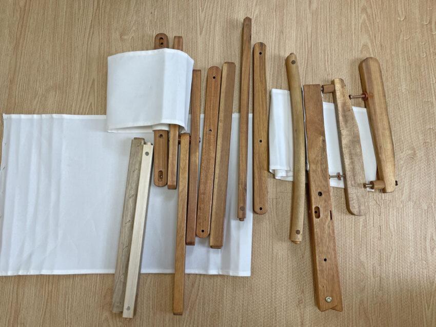 ニトリ木製ローチェア 分解