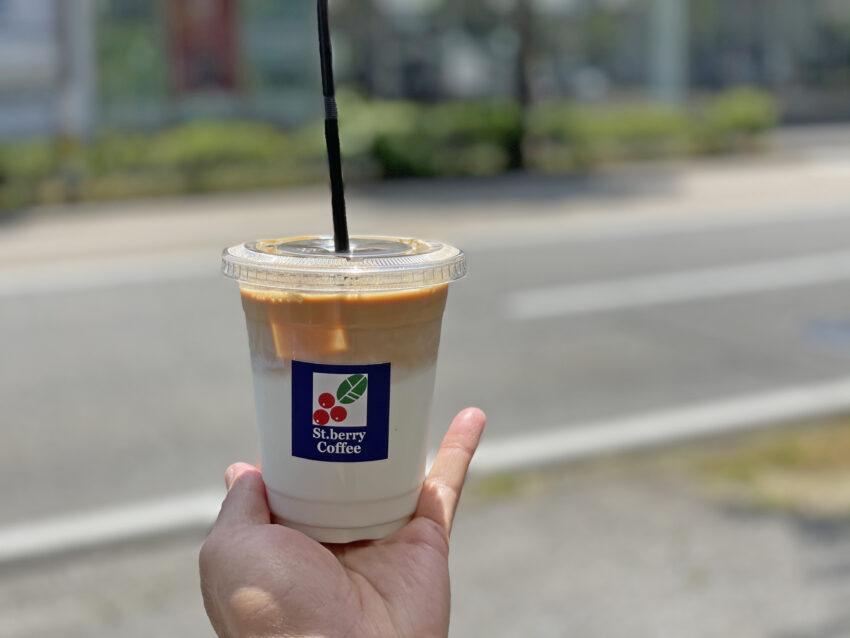 セントベリーコーヒー カフェラテ