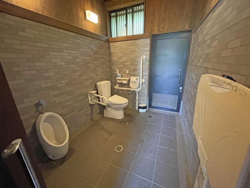 桜ヶ池公園 多目的トイレ