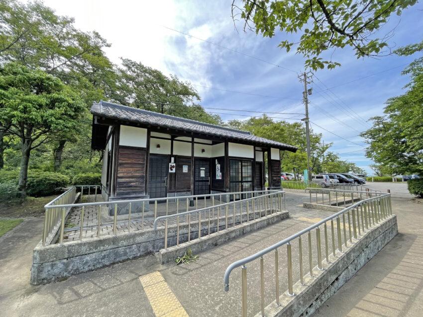 桜ヶ池公園 トイレ